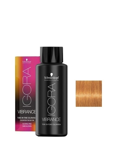 igora Igora Vibrance 9-7 Sarı Bakır Yarı Kalıcı Saç Boyası 60 Ml Renksiz